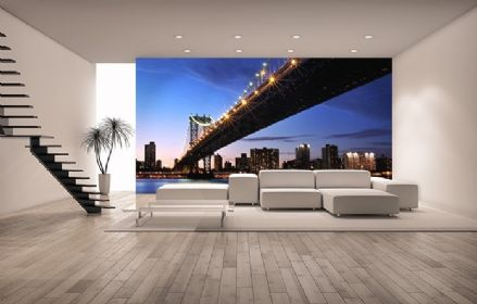 Sunset - Manhattan wallpaper murals